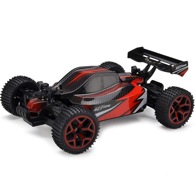 Cheerwing 4WD RC Car Off-Road Vehicle 1: 18 2 4Ghz High Speed Buggy Remote  Control Racing Car Red